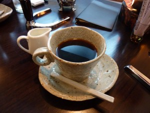 美味しいコーヒーでした